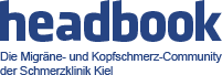 headbook: Migräneforum | Kopfschmerzforum Logo